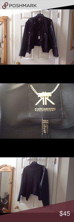 Selling this KARDASHIAN KOLLECTION JACKET on Poshmark! My username is: mycal3. #shopmycloset #poshmark #fashion #shopping #style #forsale #Kardashian Kollection #Jackets & Blazers