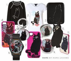 Catsparella: Fuel Your Black Cat Addiction With Marc by Marc Jacobs Clothing & Accessories