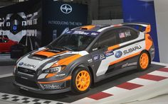 "SUBARU WRX STI Rally Cross Car ""VT15x"" (New York Motor Show 15) (Via Response: [New York Motor Show 15] SUBARU WRX STI of 580hp rally racer... STI is full support http://response.jp/article/2015/04/13/248909.html) This racing car was developed by Subaru Rally Team USA, in order to compete in the ""Red Bull Global Rally Cross"" and ""X Games Rally Cross""."
