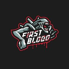 "좋아요 432개, 댓글 1개 - Instagram의 Logolemon(@logolemon)님: ""First Blood logo by @graphicmaniac  #alien #blood #esports #scary"""