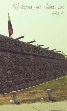 Sólo Cartagena de Indias... @alejo_ib Cartegena Colombia, Historical Sites, Four Square, South America, Colonial, Trips, Anniversary, Vacation, Country