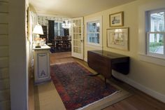 Image - Traditional Entryway with Folding Table | StylishHome