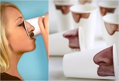 PICK YOUR NOSE CUPS   BY FRED