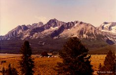 Idaho's Sawtooth Mountains near Stanley. ©Photo copyright by Marty Nelson. Photographer website: http://martynelsonphotoart.wix.com/mn-photo-art