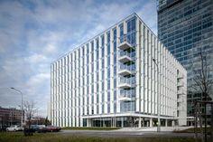 City Green Court - Prague, République Tchèque - 2013 - Richard Meier & Partners Architects LLP
