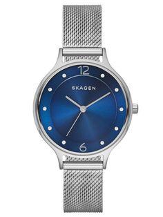 f1aaaa079387 Relógio SKAGEN ANITA. Bracelet WatchMesh BraceletBraceletsStainless Steel  ...
