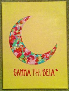 Printed Panhellenic Symbol Painting by thebrokesororitygirl, $20.00