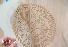Walls Stencils, Plaster Stencils, Painting Stencils, Plaster Molds – Huge selection of classic stencils for elegant home decor. Plaster Crafts, Plaster Art, Plaster Molds, Plaster Cornice, Painted Floors, Painted Furniture, Furniture Refinishing, Repurposed Furniture, Furniture Makeover