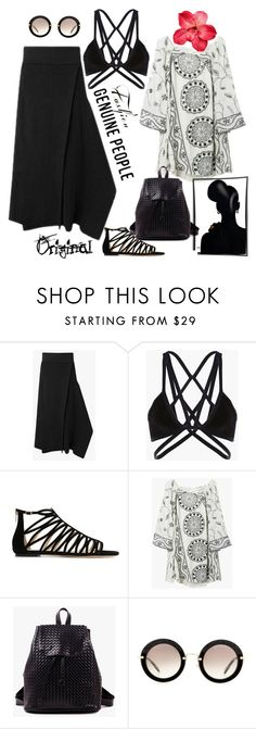 """@genuine-people"" by jecakns ❤ liked on Polyvore featuring Jimmy Choo, Miu Miu and Genuine_People"