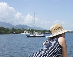 Enjoying an afternoon breeze.  El Estor, Guatemala.    mjsailing.com   sailing blog