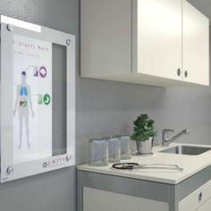 Clarus Healthboard in Doctor's Office.