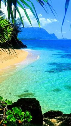 Kauai, Hawaii-- honestly the picture doesn't even do it justice....Would love to put my toes in the water