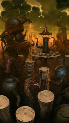 Alice: Madness Returns - Concept Art - Environment Art