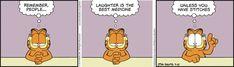 Garfield by Jim Davis for July 15 2019 Brave Little Toaster, Doom 1, Garfield Comics, Jim Davis, The Big Lebowski, Forrest Gump, The Far Side, Medical Humor, Non Sequitur