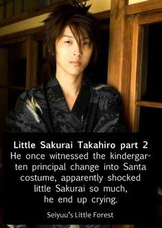 Seiyuu's Little Forest - Sakurai Takahiro Takahiro Sakurai, Santa Costume, Beautiful Voice, Voice Actor, Just Amazing, Live Action, Me Me Me Anime, The Voice, Facts