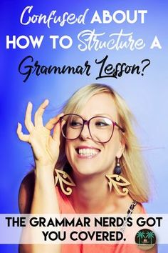 Grammar is confusing for many people - teachers included. If you're not in love with the way you're teaching grammar, or if you're trying to figure out how to get started, this post can offer some insightful tips to get you headed in the right direction. Let's talk grammar lessons!