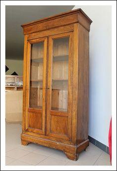Vetrina libreria cappuccina cristalliera! Epoca 1850 antica antiquariato