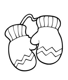 gloves coloring pages gloves
