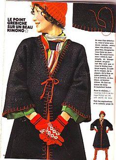 Manteau kimono… - Le blog des Centidéalistes