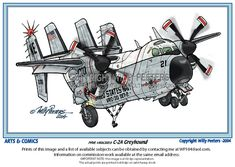 Greyhound Cartoon by Willy Peeters (Artwork No Scale) Aviation Humor, Aviation Art, Military Memes, Military Art, Women In History, Ancient History, Caricature, Cartoon Plane, Us Military Aircraft