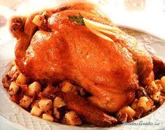 Pavo de navidad con tocino  http://www.recetasgratis.net/Receta-de-Pavo-navidad-receta-9060.html