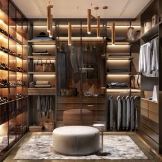 Man& wardrobe - Laconic and brutal dressing room in warm colors will appeal to every man. ~ Laconic and brutal dres - Dressing Room Decor, Dressing Room Design, Dressing Rooms, Wardrobe Room, Wardrobe Design Bedroom, Bedroom Decor, Walk In Closet Design, Closet Designs, Interior Designers In Delhi