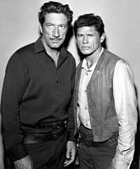 Richard Boone and Charles Bronson