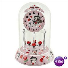 New In Box Collectible Betty Boop Anniversary Clock on eBid United States    Come see all of our items in our stores at eBid.com  http://us.ebid.net/items/mjs1859