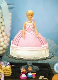 I had a cake like this when I was little.  We could do it with Cinderella!!