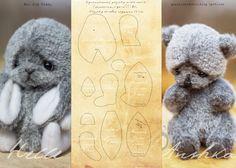 Pattern Teddy Bears
