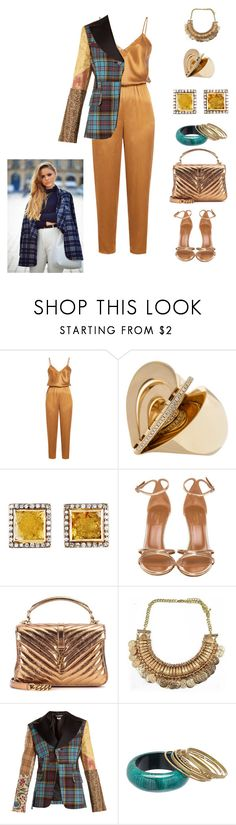 """bsejc80@gmail. com"" by conley-esperanzaj1957 on Polyvore featuring Mes Demoiselles..., Nak Armstrong, Aquazzura, Yves Saint Laurent, Junya Watanabe and Pavcus Designs"