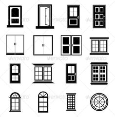Realistic Graphic DOWNLOAD (.ai, .psd) :: http://jquery.re/pinterest-itmid-1005075107i.html ... Doors and Windows ...  architecture, background, black, building, close, closed, decorative, design, door, door frame, element, exit, front, home, hotel, house, interior, open, room, symbol, vector, window  ... Realistic Photo Graphic Print Obejct Business Web Elements Illustration Design Templates ... DOWNLOAD :: http://jquery.re/pinterest-itmid-1005075107i.html