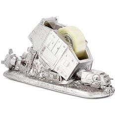 Show your love at the office with this Fallen Star Wars At-At Tape Dispenser. People will be begging you for a piece of tape daily. Just be careful, this Star Wars tape dispenser will be a hot item around the office. Star Wars Facts, Star Wars Quotes, Darth Vader, Tape Dispenser, Star Wars Wallpaper, 3d Prints, Star Wars Characters, Desk Accessories, For Stars