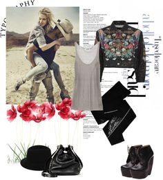 """""""mil. look"""" by zennyfe ❤ liked on Polyvore"""