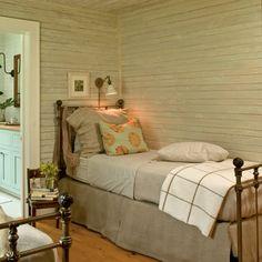 neutral coastal guest bedroom