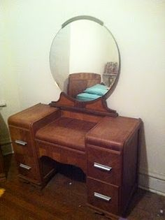 Best Art Deco 1930 S Waterfall Bedroom Set Vanity Home 400 x 300