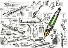 Industrial Design Portfolio, Industrial Design Sketch, Portfolio Design, Pen Design, Sketch Design, Sketch Inspiration, Art Journal Inspiration, Sketching Techniques, Sketch Photoshop