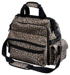 Nurse Mates Leopard Ultimate Nursing Bag....I would like this! $29