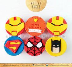 Ultraman birthday party ideas birthday invites pinterest ironman superman spiderman batman cupcake stopboris Images