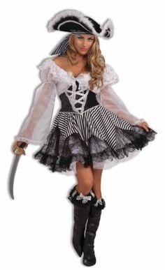 Everyone loves the myth and lore surrounding pirates. Did you ever want to be a pirate? Fulfill that fantasy with pirate costumes for women. There...