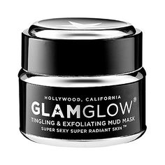 GLAMGLOW Tingling & Exfoliating Mud Mask: your skin will actually glow after using this.