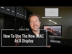 So Apple killed Target Display Mode with the newer Imacs. Here is a work around letting you use your Imac with a Macbook Pro. The Imac becomes a d. Thunderbolt Display, Tech Branding, Drive Bay, Memory Module, Mac Pro, Macbook Pro, Being Used, How To Become, Apple Bite