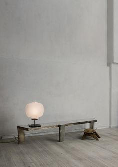 Apparatus lamp in the studio of Oliver Gustaf.