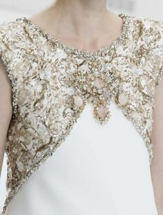 Chanel Haute Couture Fall 2014 Details