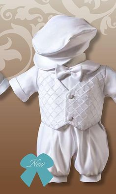 Baptism Idea: Boy Outfit