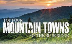 Best Mountain Towns in the Blue Ridge 2013: Roanoke, Bristol, Harrisonburg
