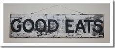 Cottage Kitchen - Sign
