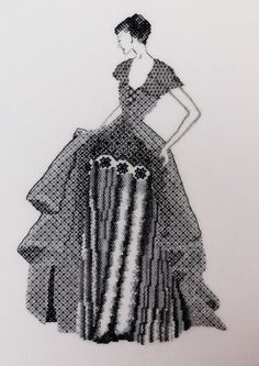 Blackwork by RSN Certificate Student Penny McMahon