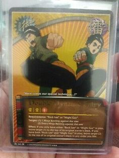 Naruto CCG Hot Blooded Tuition 322 Super Rare Mission