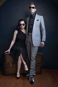A Tale of Two Ditas – DITA Eyewear founders Jeff Solorio and John Juniper enlist burlesque performer Dita Von Teese and Mark Mahoney, the proprietor of the… Mark Mahoney, Dita Von Teese Burlesque, Dita Von Tease, Pin Up Models, Campaign Fashion, Fashion Photography Inspiration, Old Hollywood Glamour, Tank Top Shirt, Retro